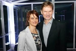 Angélica Siebert e Udo Siebert